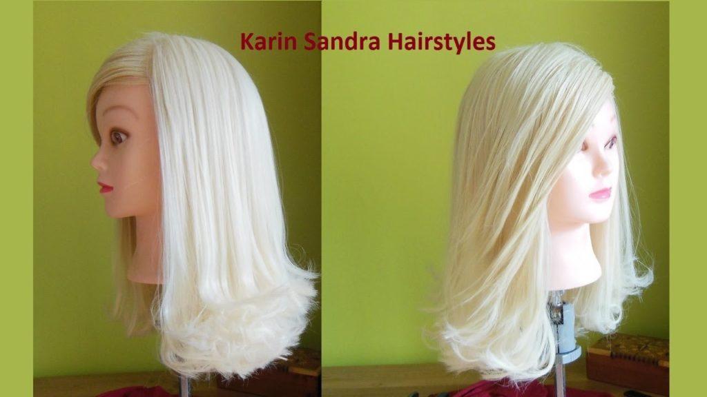 Straight Platinum Blonde Loong Bang