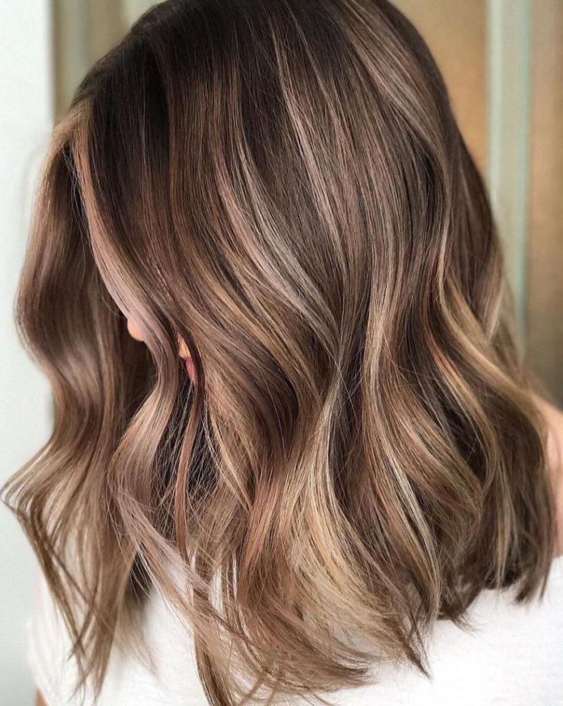 Long Bob Haircutstrends 2020 Balayage Hair In Waves 2