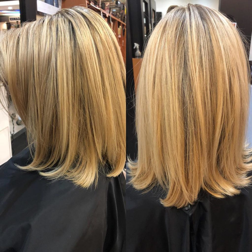 Long Bob Haircutstrends 2020 Blonde Straight Hair 1