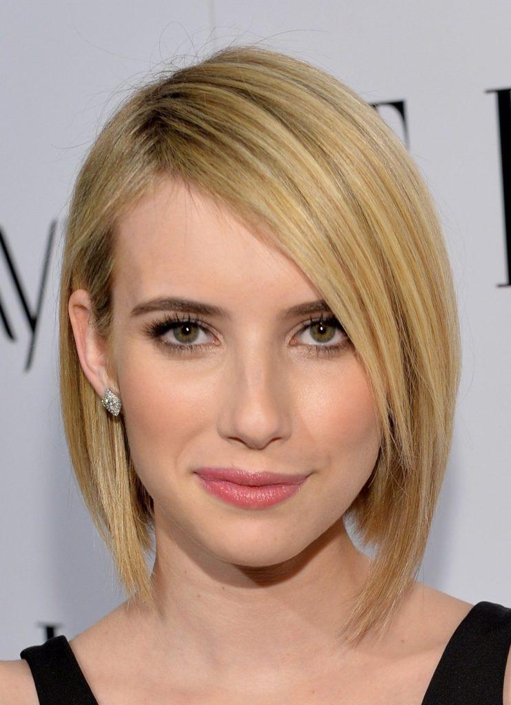 Long Bob Haircutstrends 2020 Hollywood Actress Emma Watson Blonde Straight Hair 1
