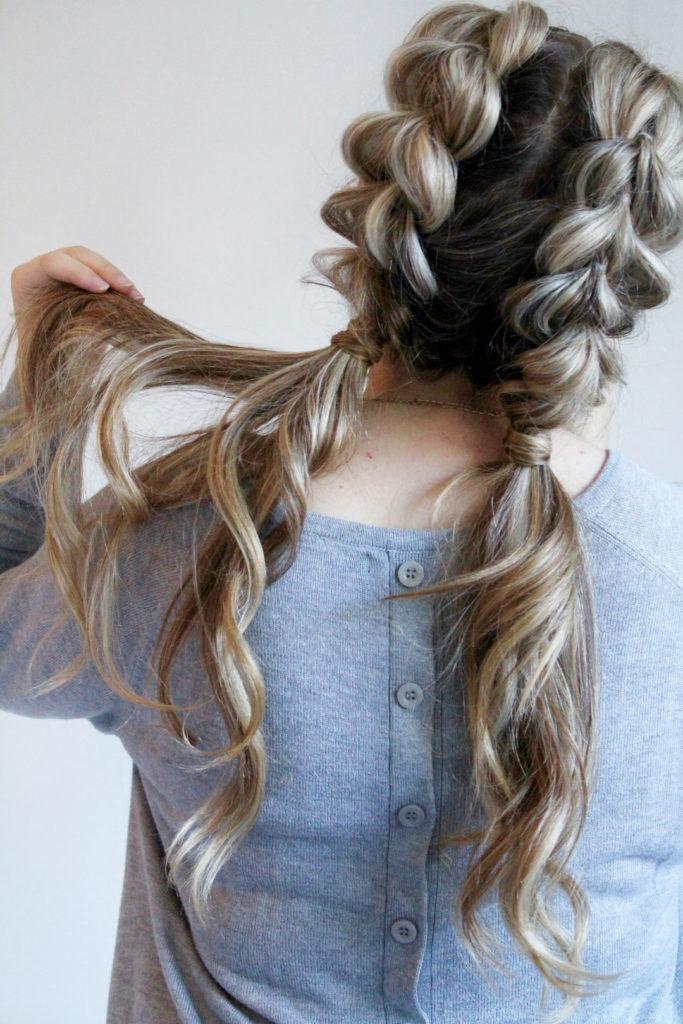 Long Teens Haircuts trends 2020 two braids