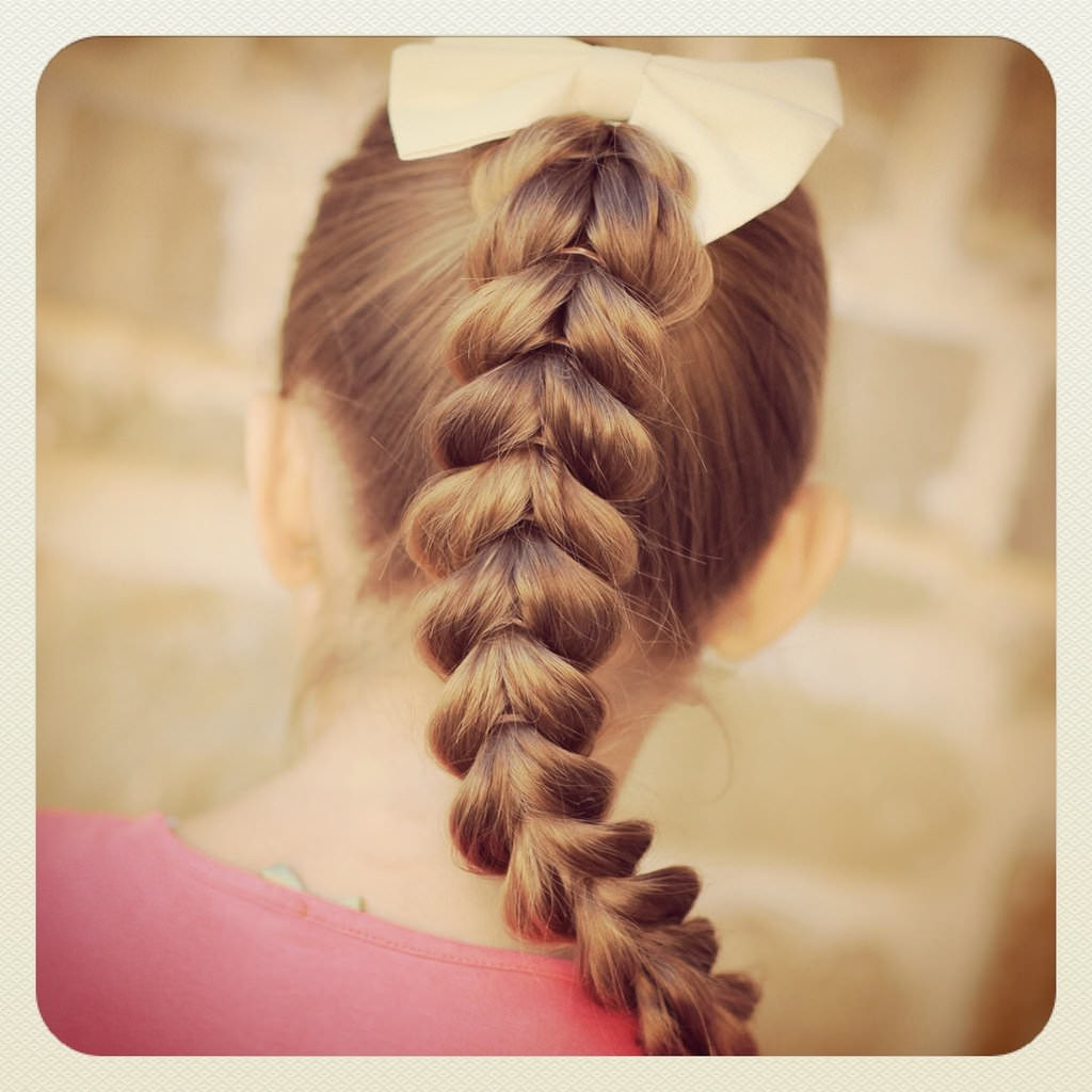 Long braided hairstyles trends 2020 Fishtail Braid With Accent Braid.