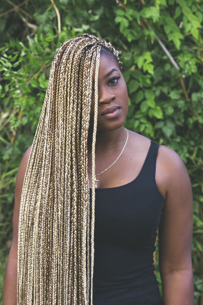 Long braided hairstyles trends 2020 blonde canerows braids