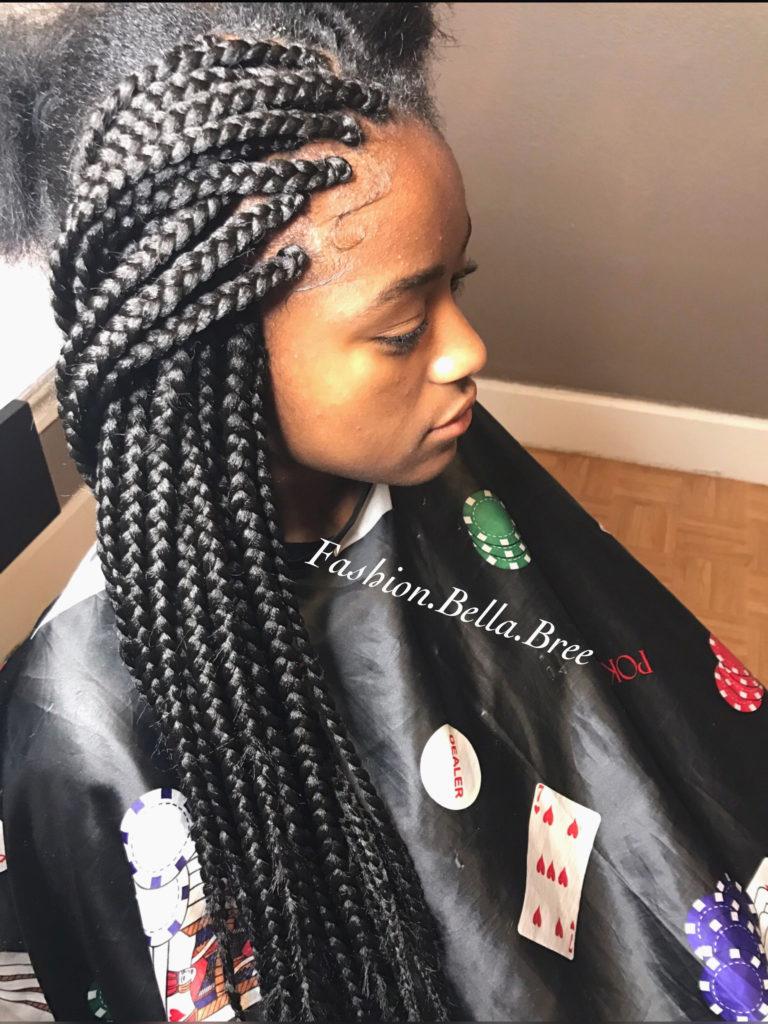 Long braided hairstyles trends 2020 box braids