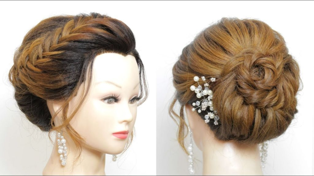 Long braided hairstyles trends 2020Fishtail Crown Braid.