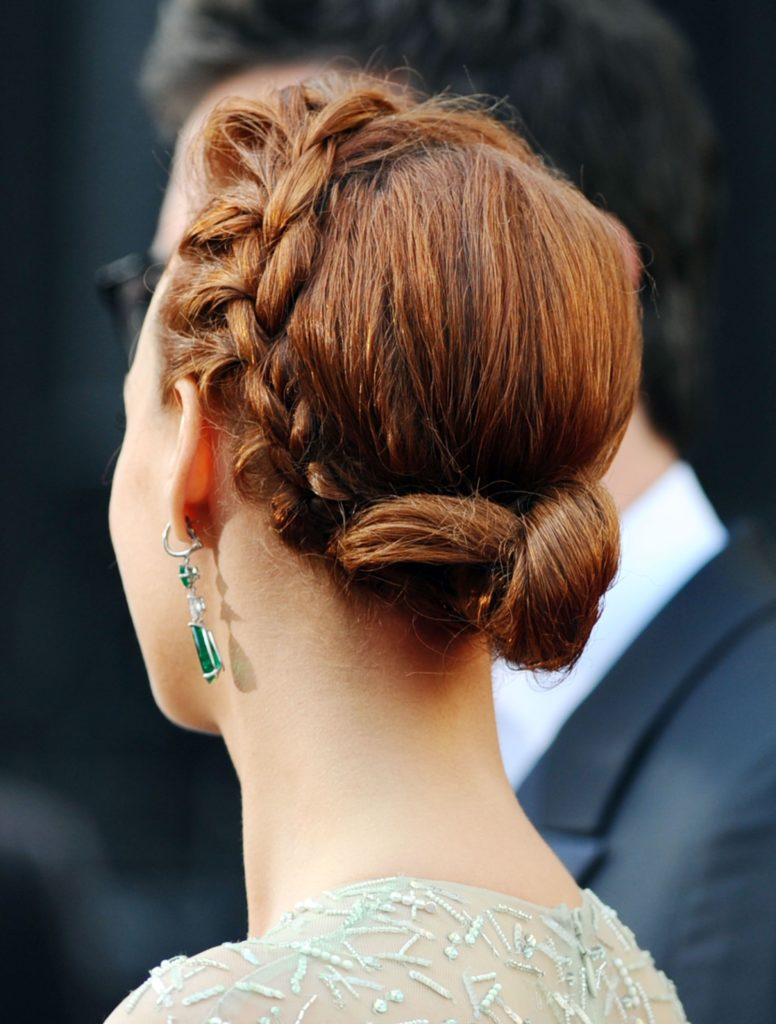 Long braided hairstyles trends 2020 Fishtail Crown Braid.