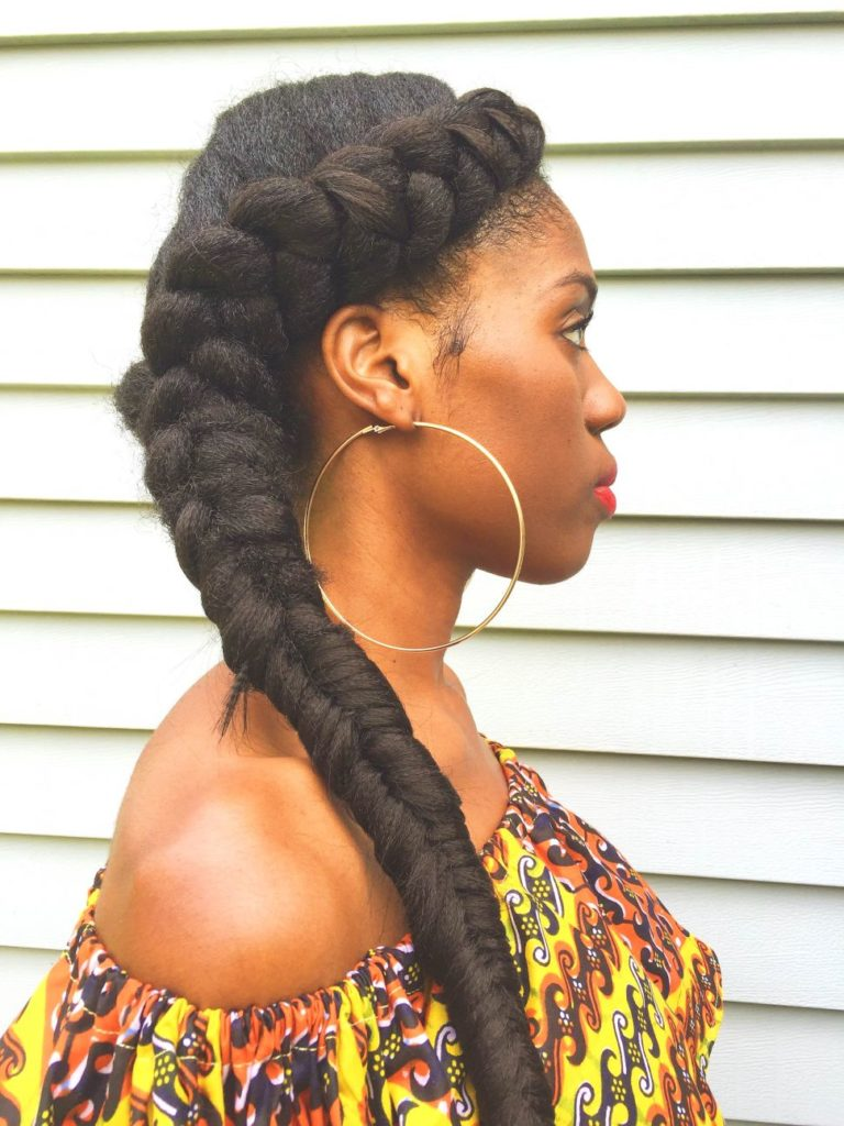 Long braided hairstyles trends 2020 african american ponytail braids 5