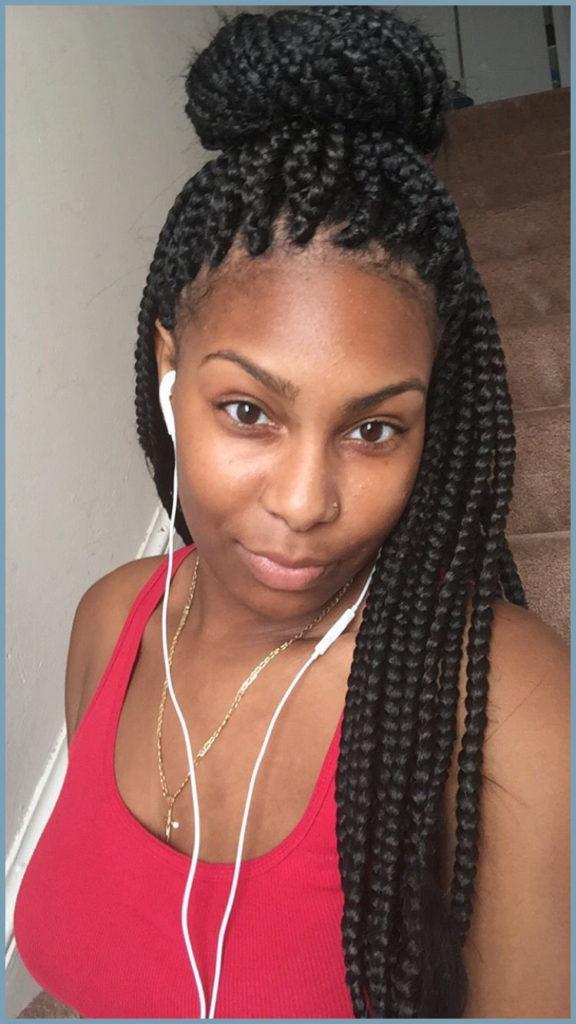 Long braided hairstyles trends 2020 box braids 1