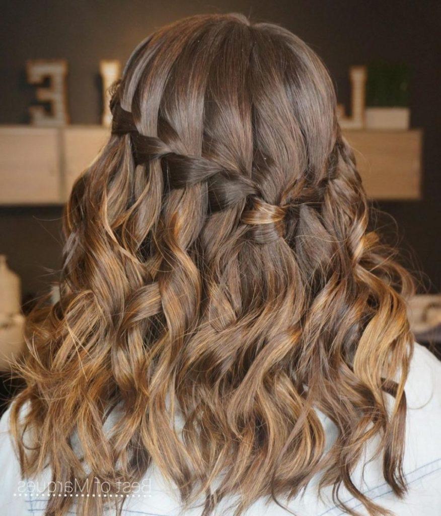 Long braided hairstyles trends 2020 dutch braid 1