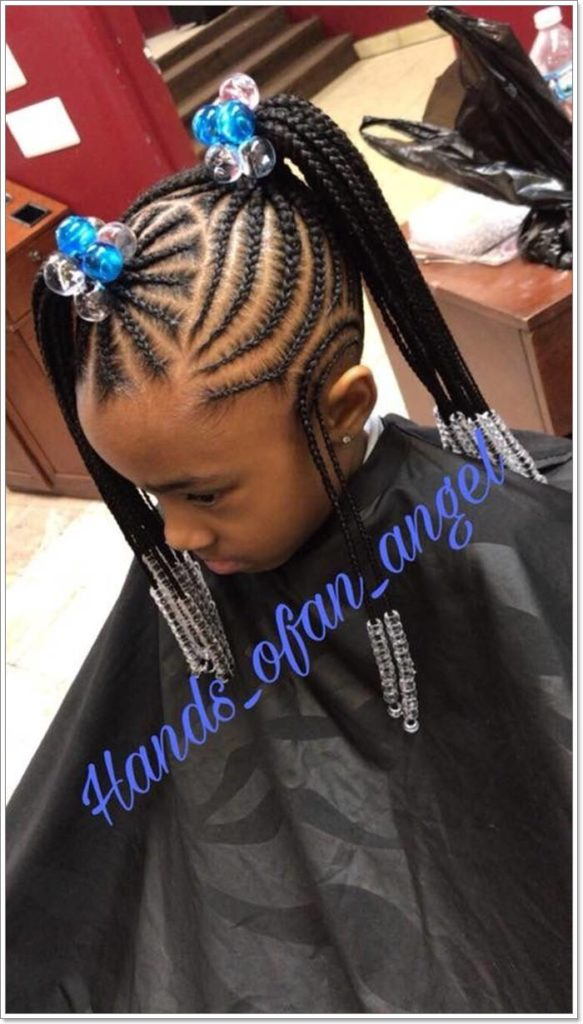 Long braided hairstyles trends 2020 teen Canerows Braids