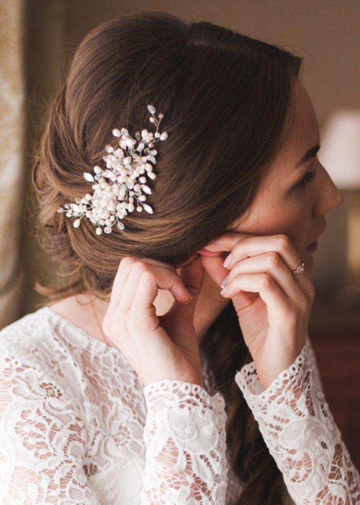 Wedding Accesories Hairstyles For Long Hair