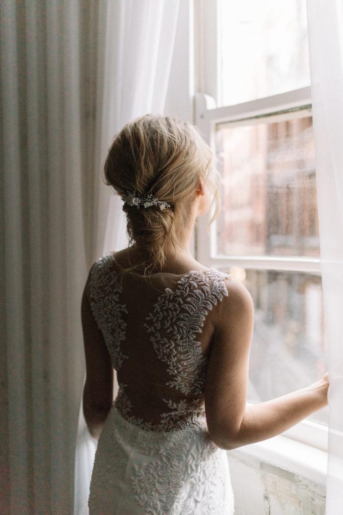 long haircut wedding style