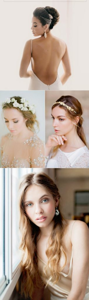 long Flowers Accesories haircut wedding style