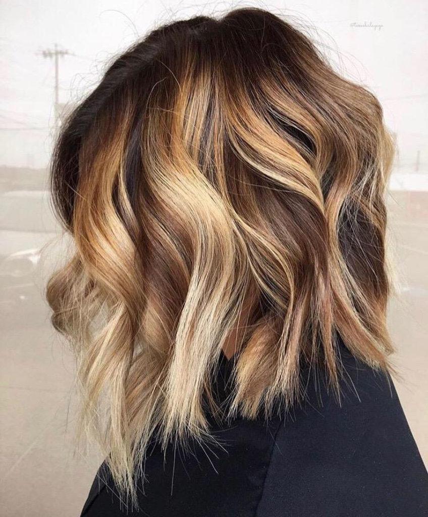 Medium Balayage Hairstyles trends 2020 Blonde Highlights