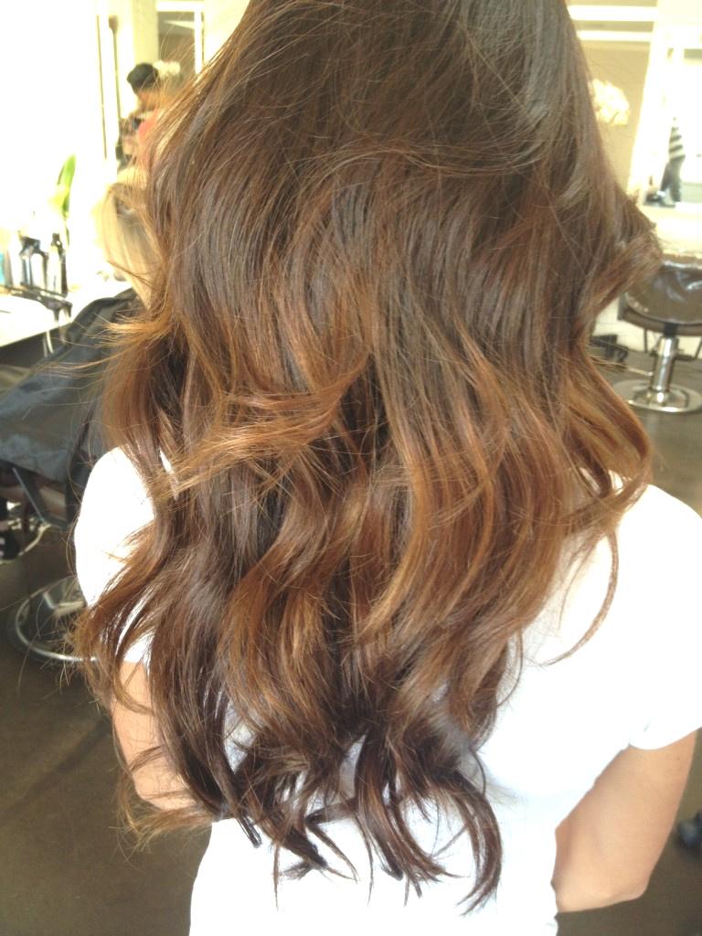 Medium Balayage Hairstyles trends 2020 Wavy brunette