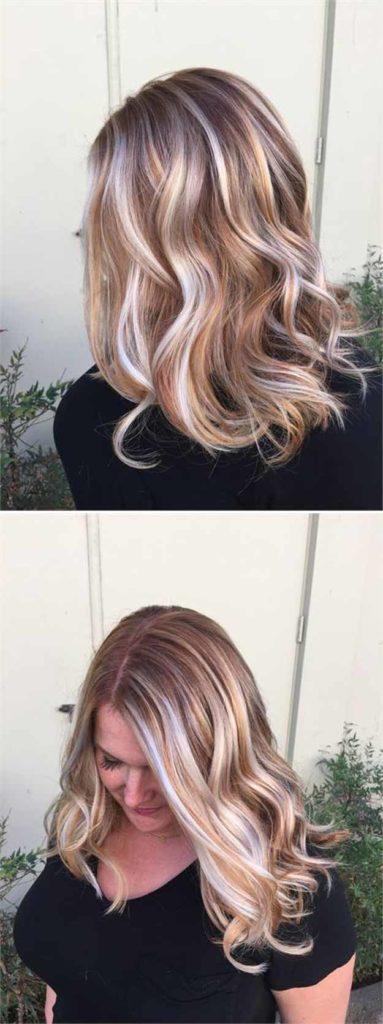 Medium Balayage Hairstyles trends 2020 ash blonde highlights 1
