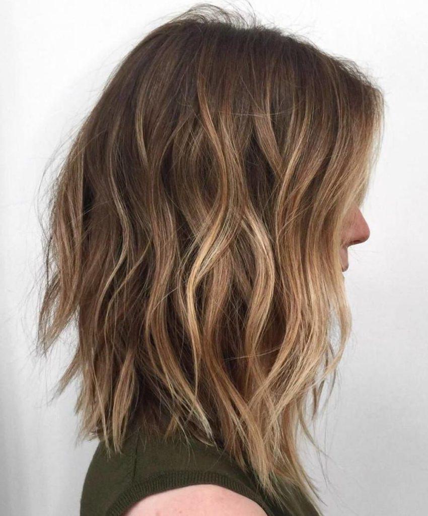 Medium Balayage Hairstyles trends 2020 blond 1
