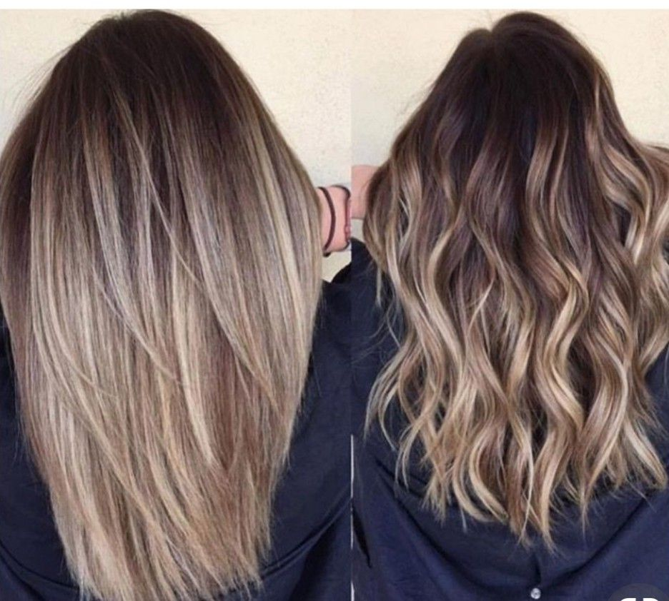 Medium Balayage Hairstyles trends 2020 bronze creamy blonde color highlights