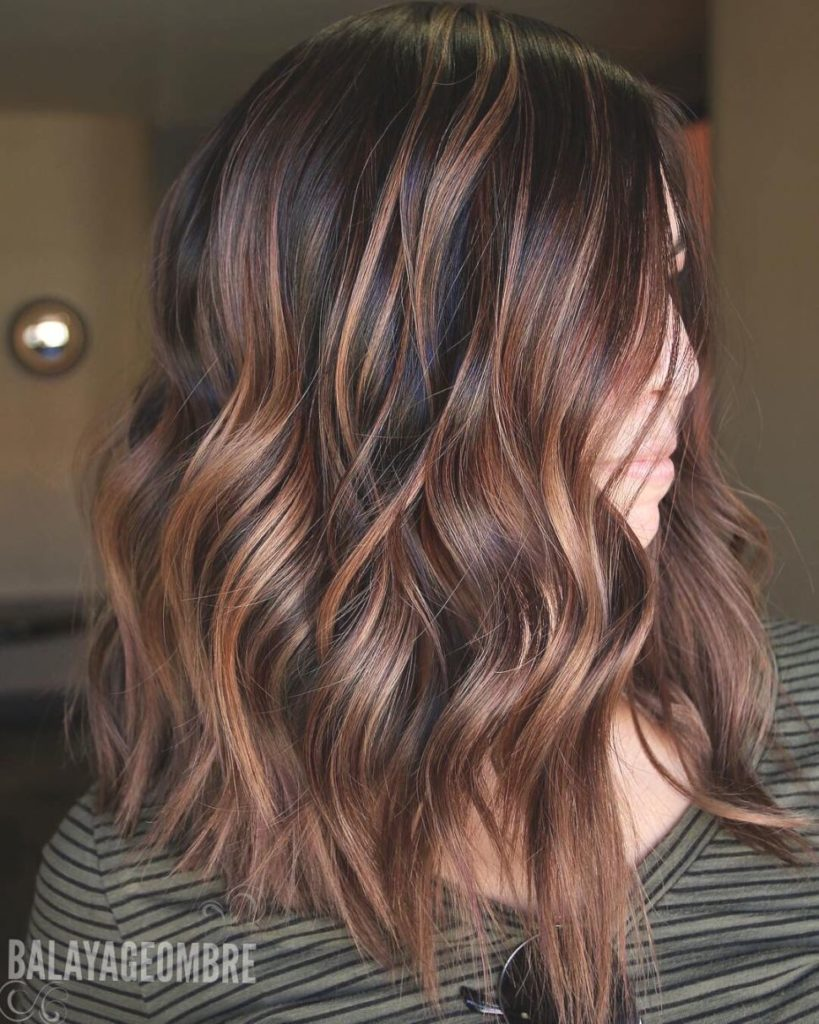 Medium Balayage Hairstyles trends 2020 brunette