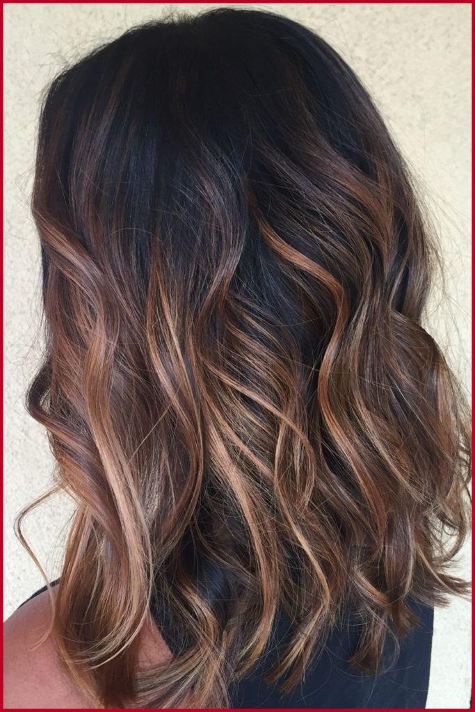 Medium Balayage Hairstyles trends 2020 dark brown