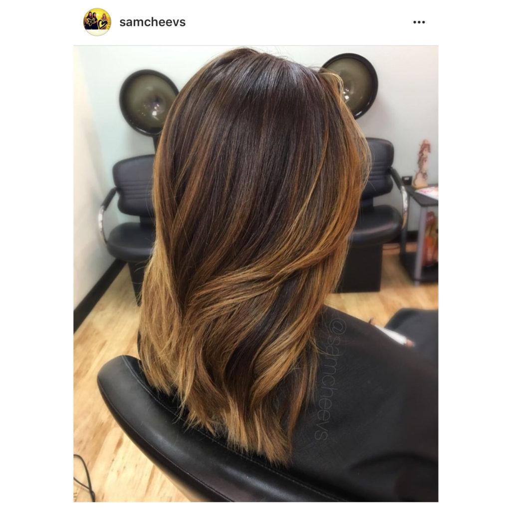 Medium Balayage Hairstyles trends 2020 straight caramel color