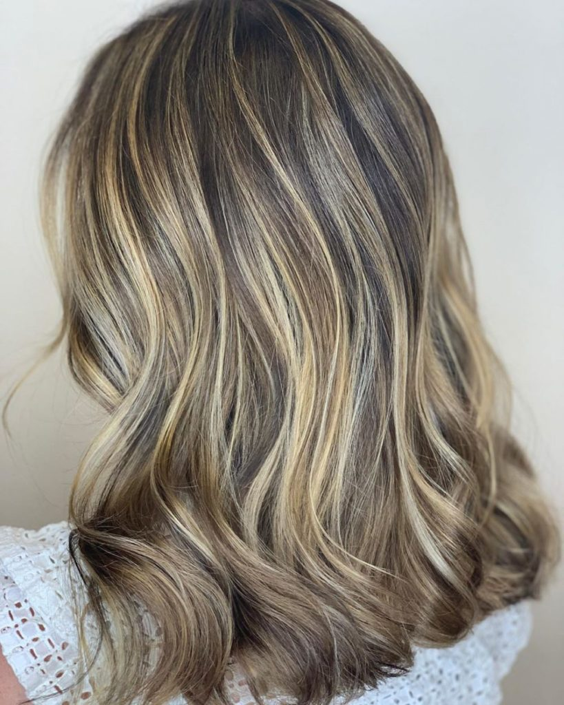 Medium Balayage Hairstyles trends 2020 white and gray