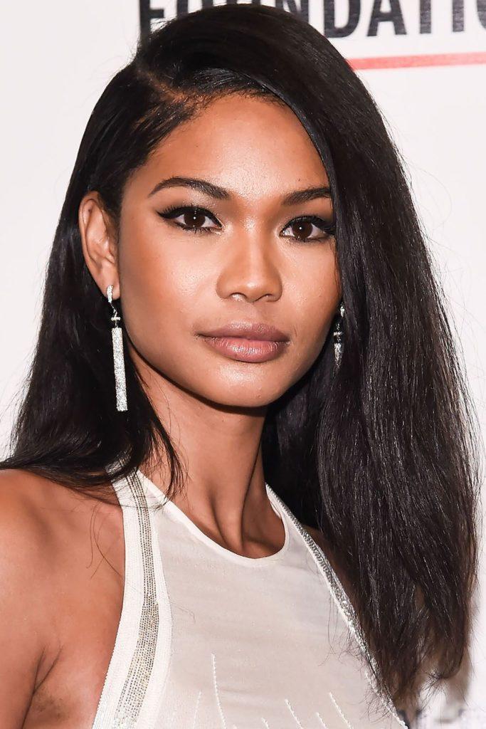 Medium Teens Haircuts trends 2020 natural brunette dark color 1