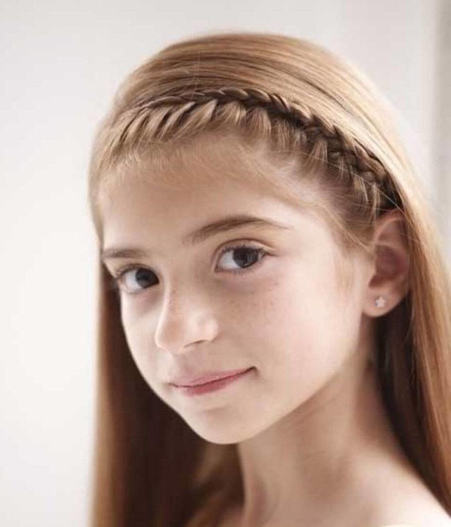 Medium Teens Haircuts trends 2020 Front braid 4