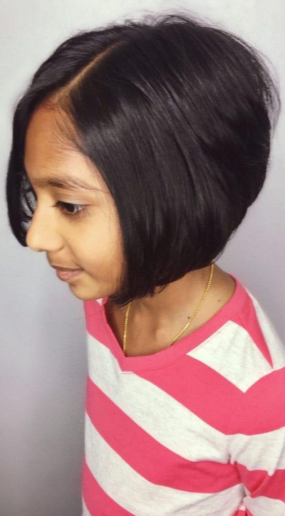 short black pixie cut