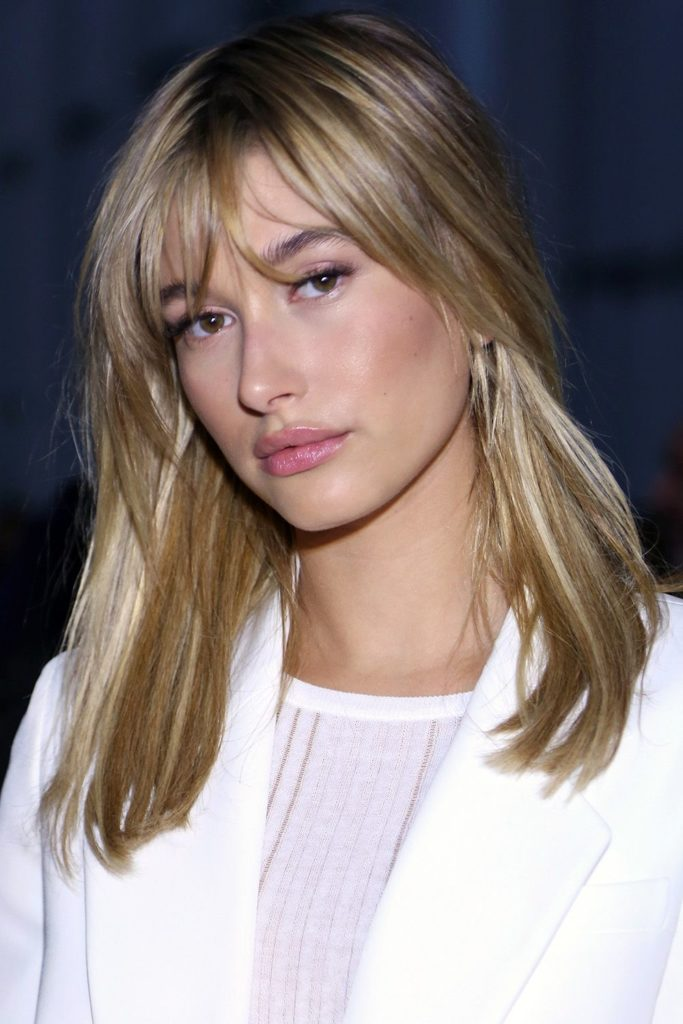 Medium Teens Haircuts trends 2020 blonde straight with bangs 5