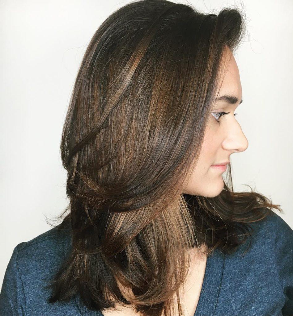 Medium Teens Haircuts trends 2020 brown 4