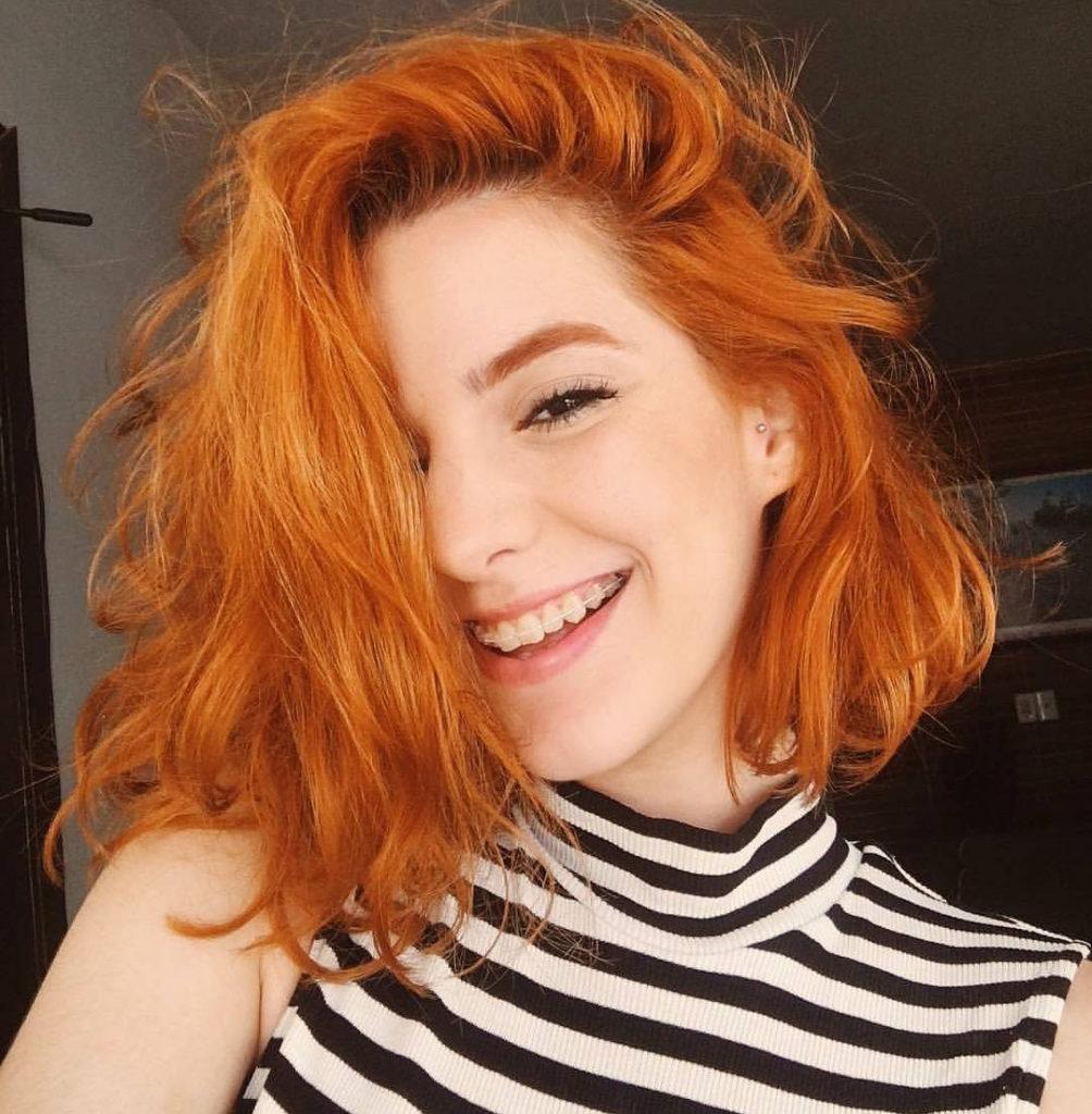 Medium Teens Haircuts trends 2020 redhead 5