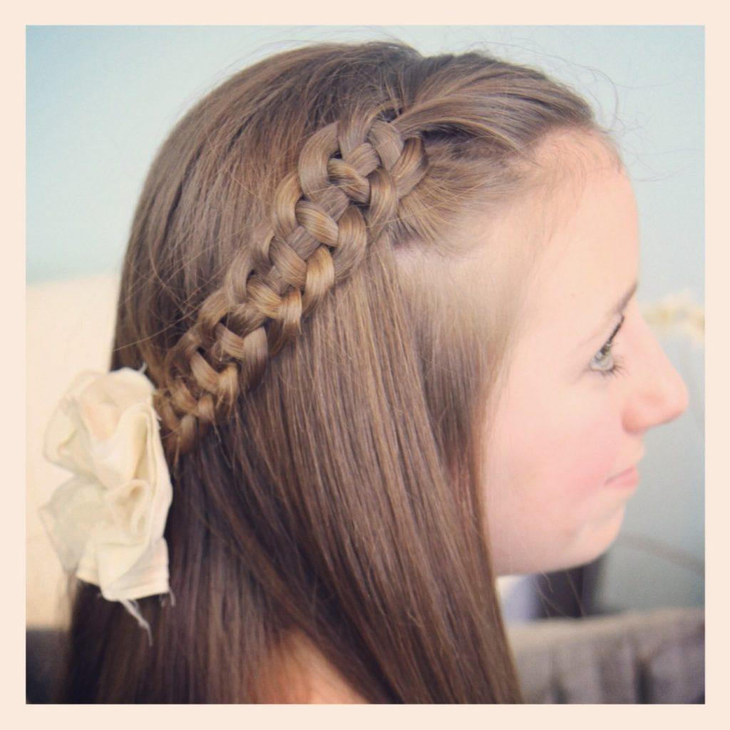 Medium Teens Haircuts trends 2020 two braids 5
