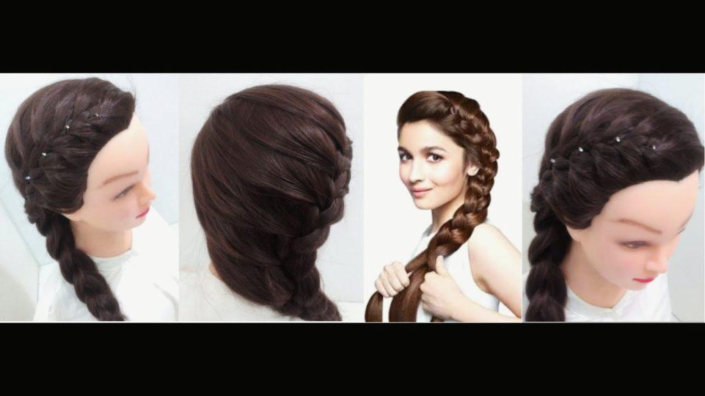 Medium braided hairstyles trends 2020 2677