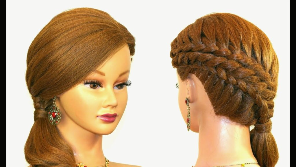 Medium braided hairstyles trends 2020 4 strands