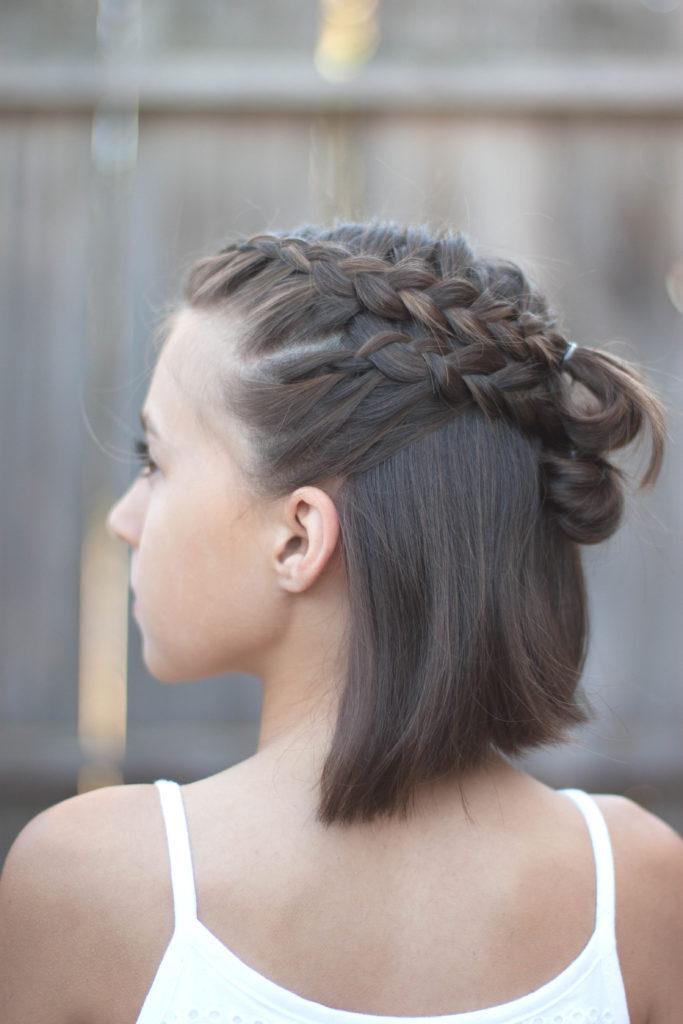 Medium braided hairstyles trends 2020 4 strands braid