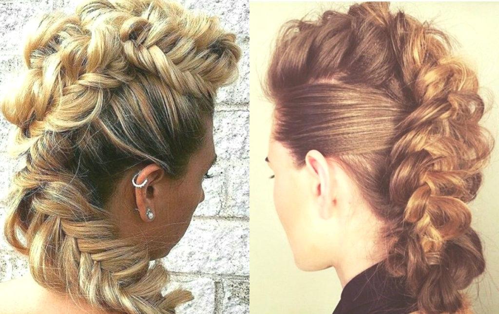 Medium braided hairstyles trends 2020 braid within braid
