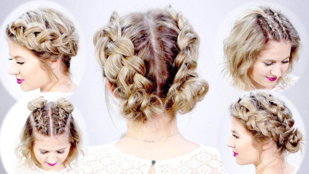 Medium braided hairstyles trends 2020 dutch braid 2