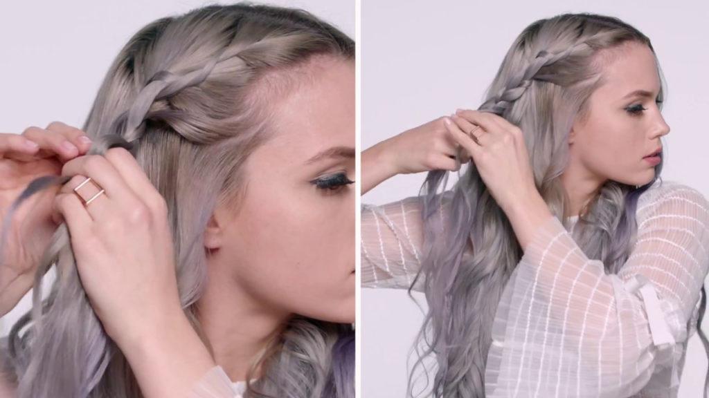 Medium braided hairstyles trends 2020 fishtail tutorial