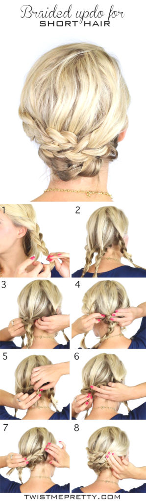 Medium braided hairstyles trends 2020 french braid style