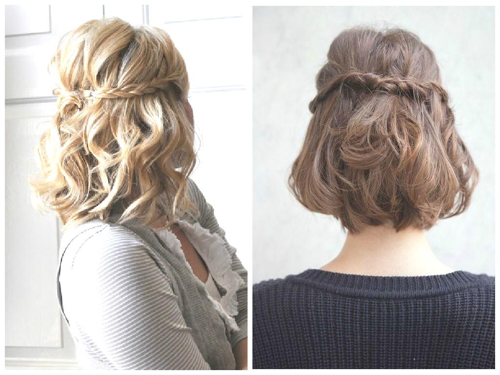 Medium braided hairstyles trends 2020 waterfall braid