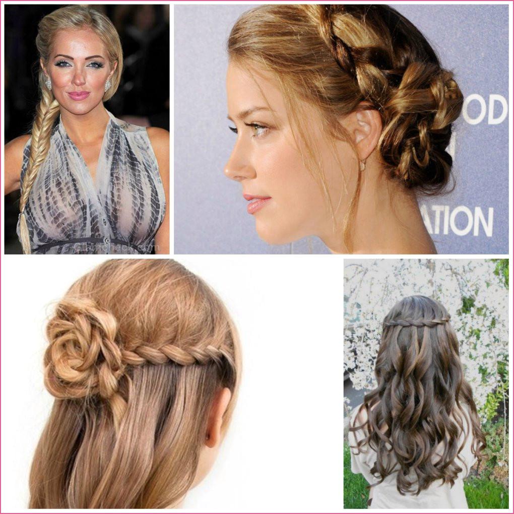 Medium braided hairstyles trends 2020 waterfall french braid