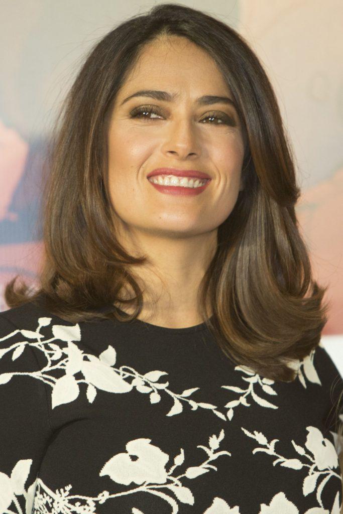Hollywood Actress Medium haircut