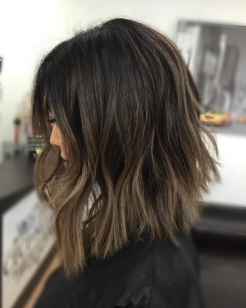 Short Balayage Hairstyles trends 2020 caramel blonde balayage highlights 1