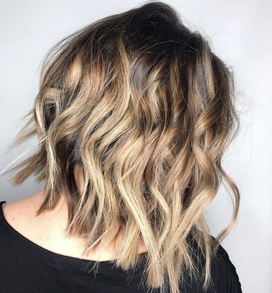 Short Balayage Hairstyles trends 2020 ice blonde color balayage