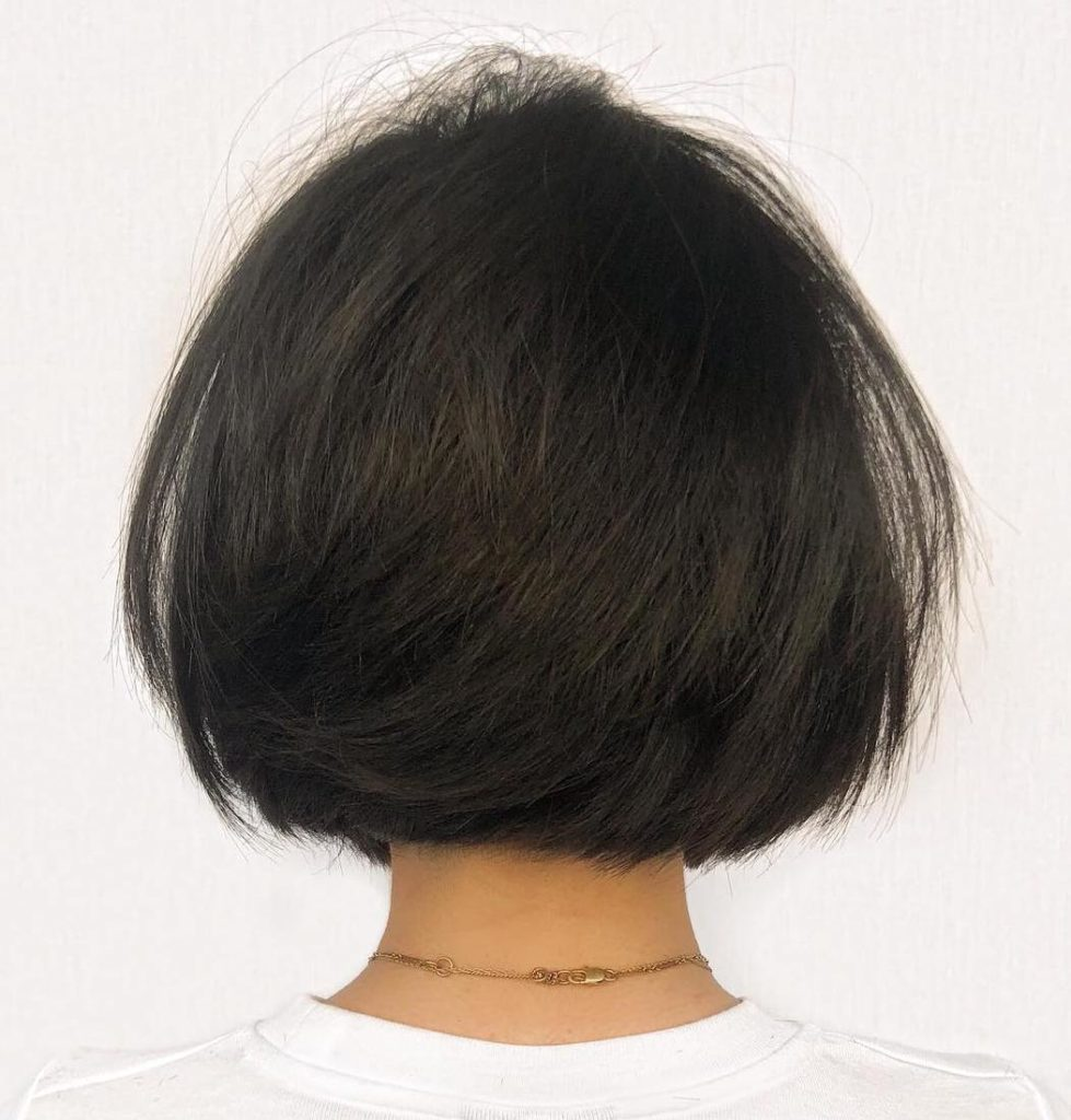 Short Bob Haircuts trends 2020 Black bob 4