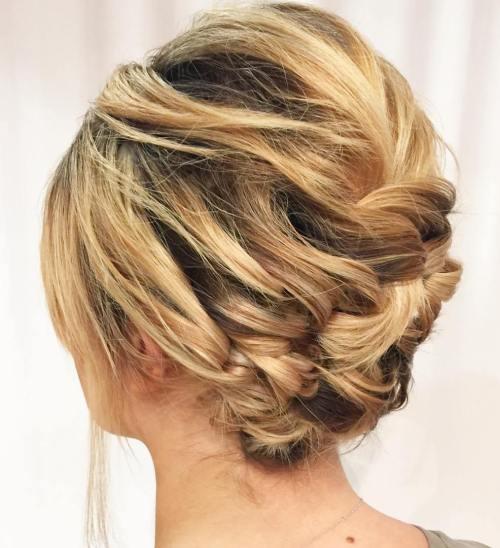 Short Bob Haircuts trends 2020 Blonde short braided 3