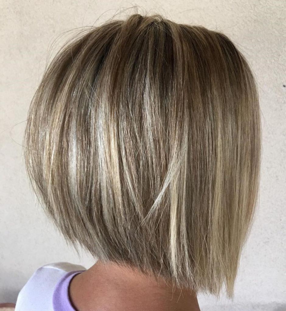 Short Bob Haircuts trends 2020 Chic blonde balayage 3