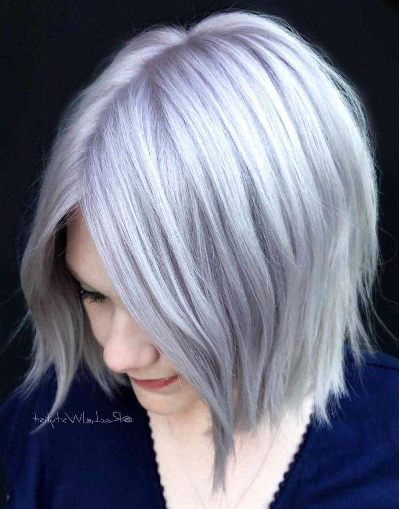 Short Bob Haircuts trends 2020 gray 2