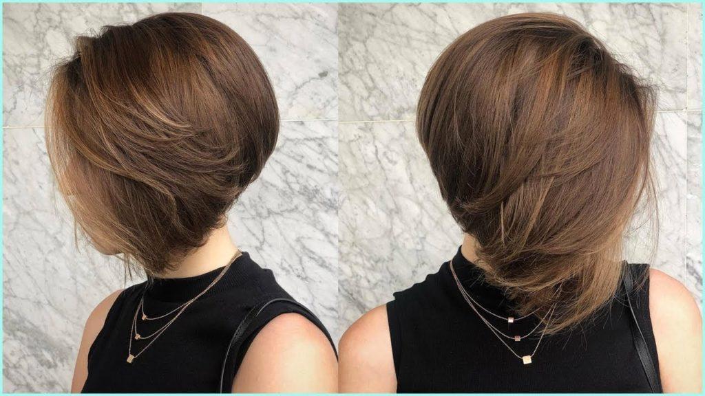 Short Bob Haircuts trends 2020 noisette straight haircut 3